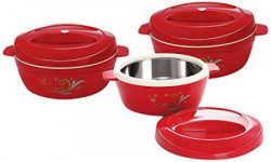 Cello Alpha Casseroles Gift Set 3Pieces Maroon