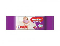 Huggies Wonder Pants Large Size Diapers 5 Count Sample