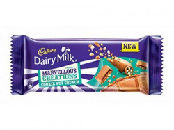 Cadbury Dairy Milk Marvellous Creations Cookie Nut Crunch Chocolate Bar 75GM