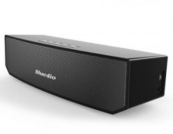 Bluedio BS3 Camel Portable Bluetooth Wireless Stereo Speaker with Microphone for Calls Innovative 3magnet Drivers 3D Surround System Black