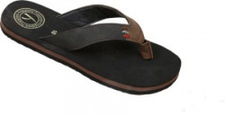 Hoppers Flip Jack Brown and Black Slippers Slippers