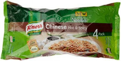 Knorr Chinese Hot and Spicy Noodles 280g Pack of 4