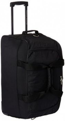 American Tourister Polyester Black Travel Duffle Y65 0 09 367