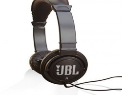 JBL C300SI OnEar Dynamic Wired Headphones Black Color