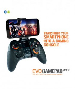 Amkette Evo Gamepad Pro 2 Wireless Controller For Android Smartphone And Tablets black