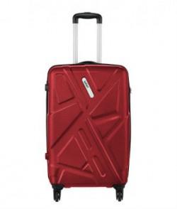 Safari Electrik Red 4 Wheel Hard Luggagesize Small below 60 Cm