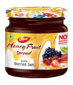 Dabur Honey Exotic Berries Fruit Spread Jam