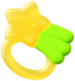 Pigeon Cooling Teether Star YellowGreen