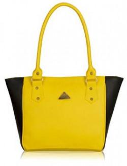 Fantosy Women handbag FNB2781 Black and Yellow