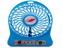 Portable Rechargeable Battery USB Mini Fan Colours May Vary New Arrival Best Selling Premium Quality Lowest Price 3 Adjustable Speed Levels Multifunctional Very Small Compact Durable Powerful Energy Conservation Environment Protection Intelligent Control System Slim Lightweight Reliable Performance High Wind Long Life Easy Operation Simple Appearance Solid Structure Keeps Cool on Hot Days Perfect for Home Office Bedroom Hostel Students Dorm Trave