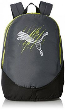 Puma 25 Ltrs Turbulence and Lime Punch Casual Backpack 7363903