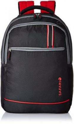 Safari 25 Ltrs Black Casual Backpack FusionBlackLB