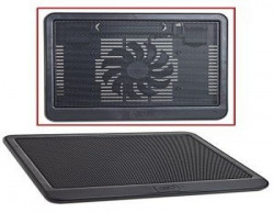 DEEPCOOL N19 NOTEBOOK COOLER UPTO 14 W 140MM FAN W USB PASSTHROUGH AND TWO ANGLES