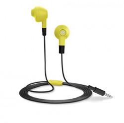Motorola Lumineer Earbuds InEar Headphone Lime Yellow