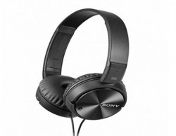 Sony MDRZX110NC OnEar Noise Cancellation Headphones Black