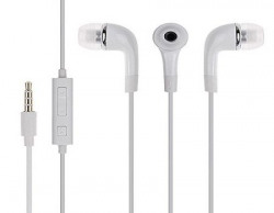 AllExtreme Headphones WIth Mic Earphones Handsfree Headset With Deep Bass And Music Equalizer White