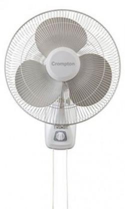 Crompton Trendz 400mm Wall Fan Opal White