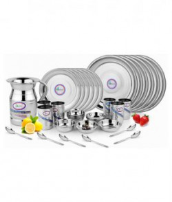 Airan Stainless Steel Dinner Set  37 Pieces