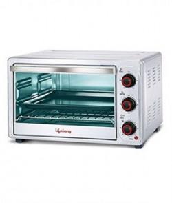 Lifelong 1500Watt 26Litre Oven Toaster Grill Sliver