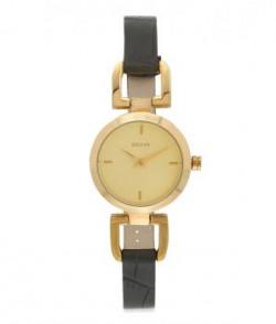 Dkny Black Analog Wrist Watch For Women