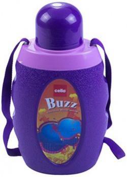 Cello Buzz Water Bottle 1 Litre Violet