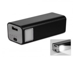 KMAX806 11200mAh Outdoor Flashlight Extended External Travel Battery Pack Mobile Power Charger