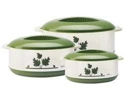 Milton Orchid Junior Insulated Casserole Set 3Pieces Green ECTHFFTK0016GREEN