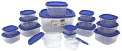 Princeware SF Pak Container Set 17Pieces Blue