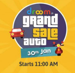 Upcoming  Droom Grand Sale  Everything Rs9