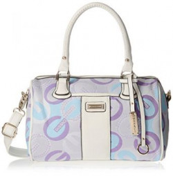 Gussaci Italy Womens  Handbag Purple GC603