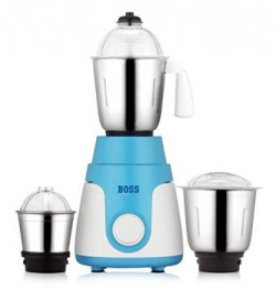 Boss Joy 550Watt Mixer Grinder 3 Jars WhiteBlue