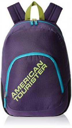 American Tourister Jasper 13 Ltrs Purple Casual Backpack JASPER 018901836116564
