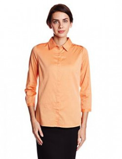 Arrow Womens Body Blouse Shirt ASRW12503Medium OrangeXSmall