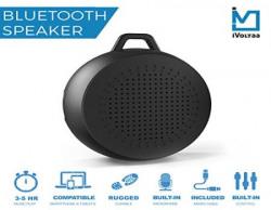iVoltaa Rugged X1 Portable Bluetooth Speaker Black