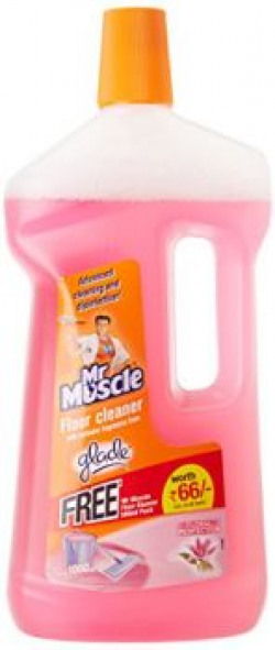 Mr Muscle Floor Cleaner Floral Perfection  1 L with free Flore cleaner glade citrus 500ml