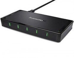 Tronsmart Titan 10A90W 5 Ports Quick Charge 20 USB Charging HUB Charging Station for iPhone Samsung HTC Nexus and More