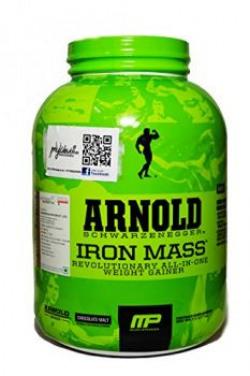 MP Arnold Schwarzenegger Series Iron Mass  5 lbs Chocolate Malt