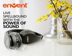 Envent LiveFun 540 Bluetooth Foldable Headphone