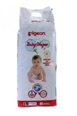 Pigeon Baby Diaper Large Size 34 Pieces