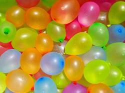 Sunshine Holi Water Balloons  Pack of 500 Balloons  Non Toxic Balloons