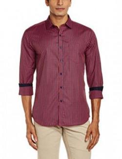 Mark Taylor Mens Casual Shirt 16110001478229MTSH01661240Red