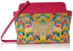 Kanvas Katha Womens Digitally Printed fashion canvas Sling bag  Multi  KKBT008