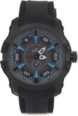 Titan 1630NP01 HTSE 3 Analog Watch   For Men
