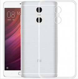 WOW ImagineTM Soft Jel Ultra Thin 03mm Full Protection Premium Clear TPU Back Case Cover for XIAOMI MI REDMI NOTE 4 Transparent Perfect Cutouts as per the INDIAN Redmi Note 4 Model
