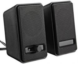 AmazonBasics USB Powered Speakers Black