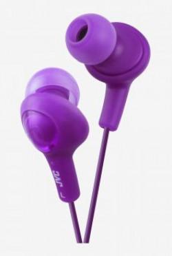 JVC Gumy PLUS HAFX5 In The Ear Headphones Purple