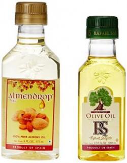 Almendrop 100 Pure Almond Oil Pet Bottle 175ml   Free Rafael Salgado 100 Pure Olive Oil 100ml
