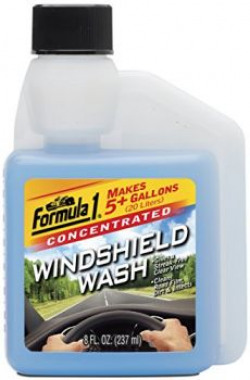 Formula 1 Windshield Wash Concentrate 237 ml