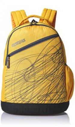 American Tourister Yellow Casual Backpack 65W 0 81 001