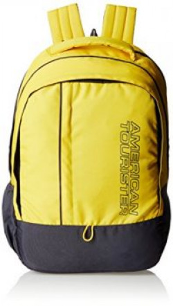 American Tourister Yellow Casual Backpack AMT ALLER2016 BACKPACK018901836129335